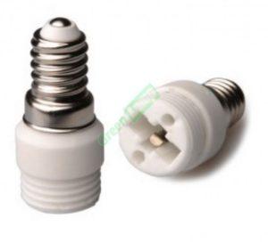 E14 to G9 Light Adaptor
