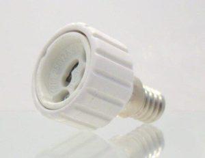 E14 to GU10 Light Adaptor